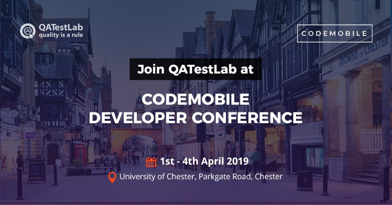 QATestLab at CodeMobile Developer Conference 2019