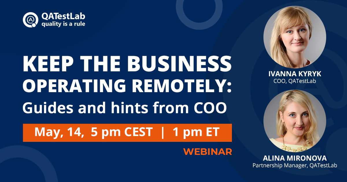 Keep the business operating remotely: Guides and hints from COO