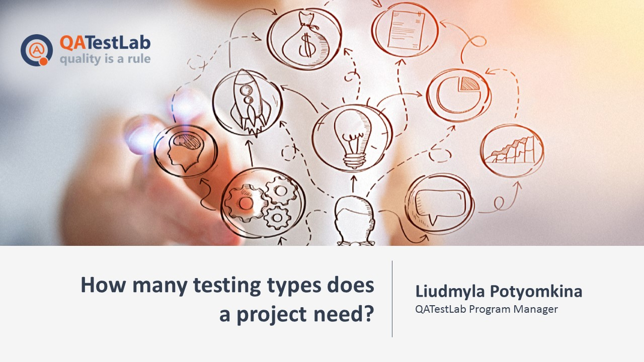 How many testing types does a project need?