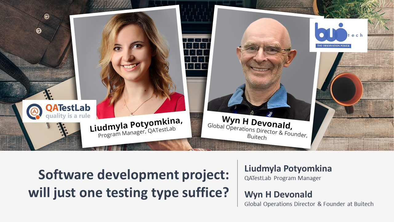 Software development project: will just one testing type suffice?