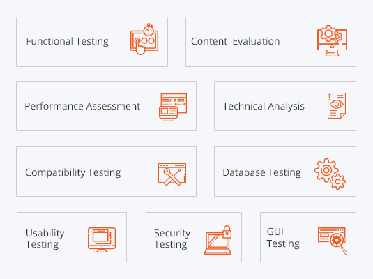 Web Application Testing scheme
