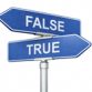False Statements About Testing