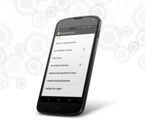 Android application for access restriction of the phone and its unlock
