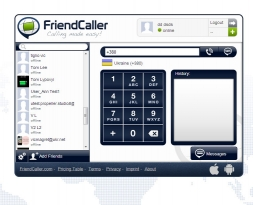 FriendCaller - Video Chat and VoIP calls for iPhone, Android, Mac, PC and Linux