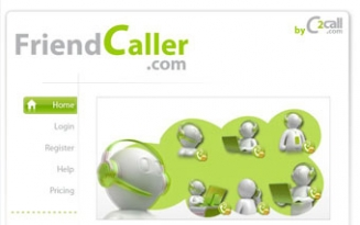 FriendCaller - Web Based Phone Call Service
