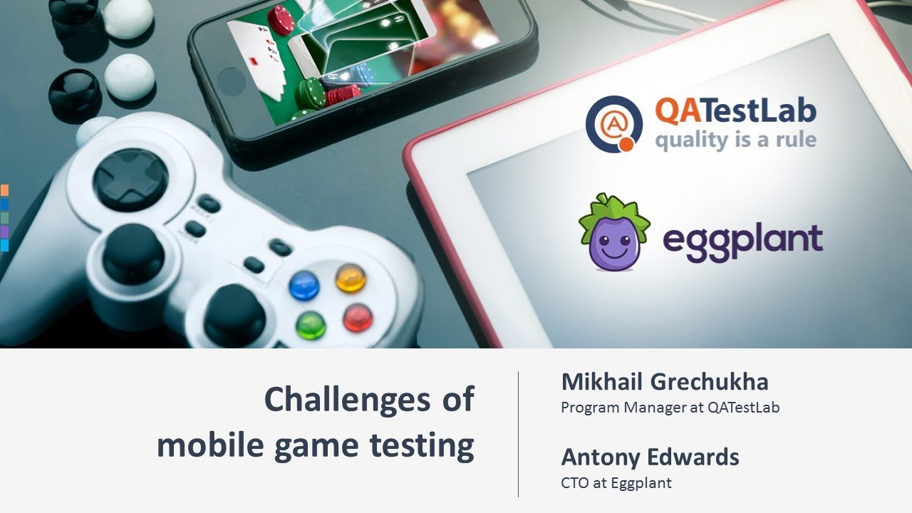 Challenges of mobile game testing
