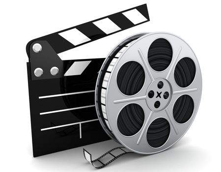 movie film roll clip art 10