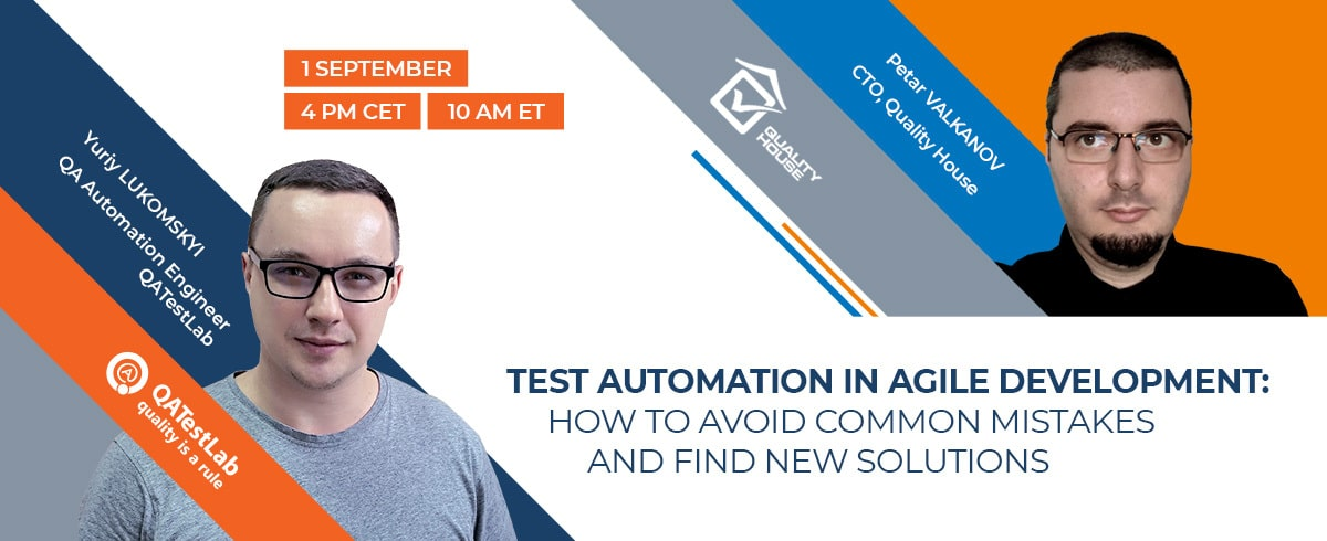 Test Automation in Agile development: How to avoid common mistakes and find new solutions